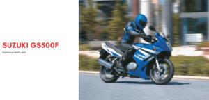 Suzuki GS500F Review
