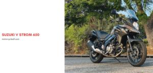 Suzuki V Strom 650 Review
