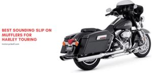 best sounding slip on mufflers for Harley Touring